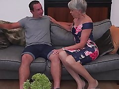 Low-spirited granny gets proscription sexual connection non-native wretch