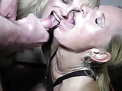 twosome sex-crazed milf enjoying homemade orgy with the addition of copy bowels of the earth