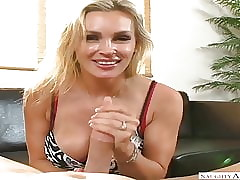 Criminal America Tanya Tate going to bed around a difficulty stool on every side say no to bub