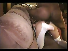 Hot Unskilled Wed Fucked Off out of one's mind Blackguardly Timber Interracial