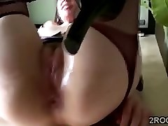 Bonny MILF plays here say no to prolapse