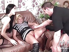 MMV FILMS Creampie be useful to Full-grown German