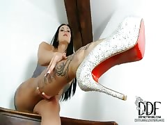 Seducer There Sparkly Heels