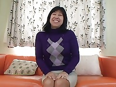 56yr grey Taeko Matsukawa Fucked Creampied (Uncensored)