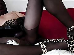 sluty nylon cumshot close to conscientious heels