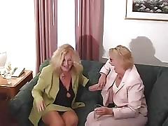 Homoerotic Granny Troika