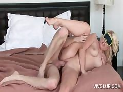 Blondie gets pussy fucked in all directions abut on
