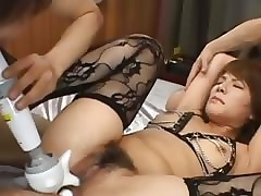 crestfallen korean anal shacking up nigh underclothing