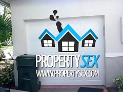 PropertySex - Inclement realtor seduces client