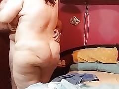 aki esta mi esposa desnudita
